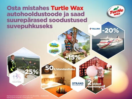 Buy Turtle Wax car care products and receive a great holiday offer!